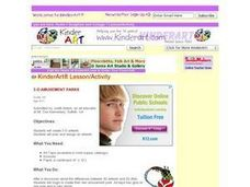 Art Tape Amusement Parks Lesson Plan