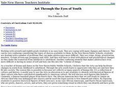 Art Through the Eyes of Youth Lesson Plan