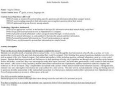 Artic/Antarctic Animals Lesson Plan