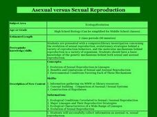 Asexual versus Sexual Reproduction Lesson Plan
