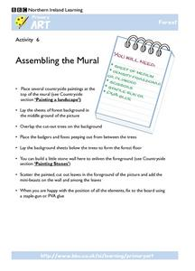 Assembling the Mural Worksheet