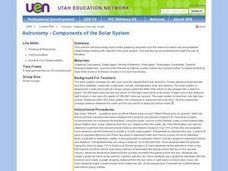 Astronomy - Components of the Solar System Lesson Plan