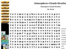 Atmosphere-Clouds- Weather Worksheet