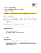 Atoms: The Building Block of Matter Lesson Plan