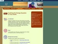 Auditing the Energy-Guzzlers in Your Home Lesson Plan