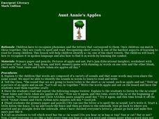 Aunt Annie's Apples Lesson Plan