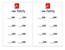 -aw family Lesson Plan
