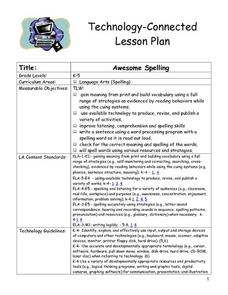 Awesome Spelling Lesson Plan
