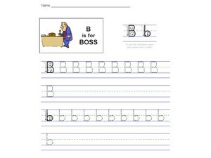 B Is For Boss Worksheet
