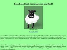 Baaa Baaa Black Sheep have you any Wool? Lesson Plan