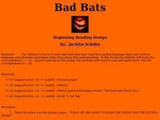 Bad Bats Lesson Plan