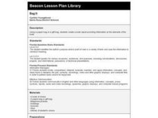 Bag It Lesson Plan