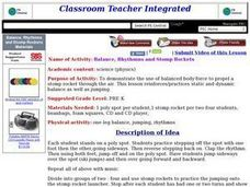 Balance, Rhythmns and Stomp Rockets Lesson Plan