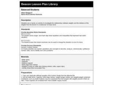 Balanced Students Lesson Plan