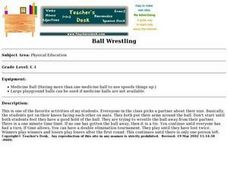 Ball Wrestling Lesson Plan