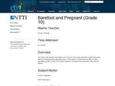 Barefoot and Pregnant Lesson Plan