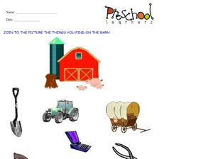 Barn Pictures Worksheet