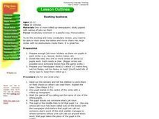 Bashing business Lesson Plan
