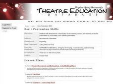 Basic Pantomime Skills Lesson Plan