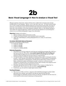 Basic Visual Language Ii: How To Analyze a Visual Text Lesson Plan