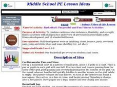 Basketball: Purposeful and Fun Fitness Activities Lesson Plan