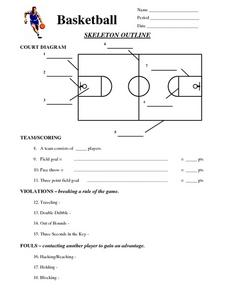 Basketball Worksheets Images - Reverse Search