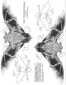 Bat Finger Puppet: An Illinois Endangered Species Worksheet