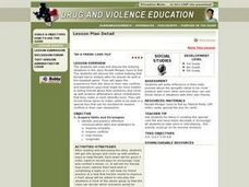 Be A Friend Card File Lesson Plan