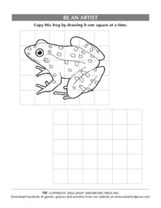Be an Artist: Frog Lesson Plan