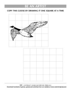 Be an Artist:  Goose Lesson Plan