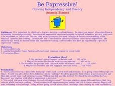 Be Expressive! Lesson Plan