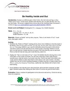 Be Healthy Inside and Out Lesson Plan