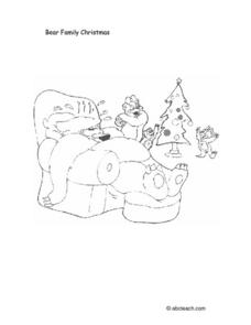 Bear Family Christmas Lesson Plan