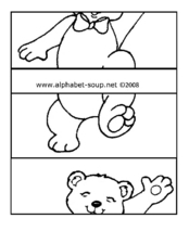 bear puzzle Worksheet