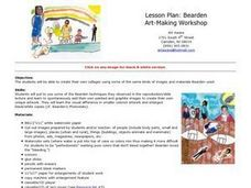 Bearden Art-Making Workshop Lesson Plan