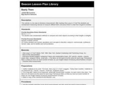 Bearly There Lesson Plan