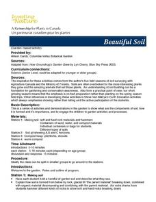 Beautiful Soil Lesson Plan