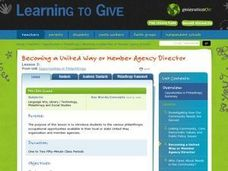 Becoming a United Way or Member Agency Director Lesson Plan