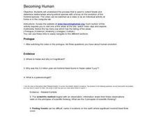 Becoming Human Worksheet