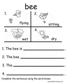 Bee Lesson Plan