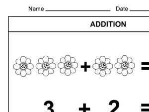 Beginner Addition Worksheet