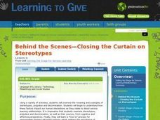 Behind the Scenes -- Closing the Curtain on Stereotypes Lesson Plan