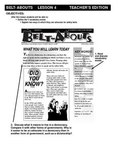 Belt-Abouts Lesson 4 Lesson Plan