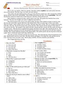 4th grade short stories pdf