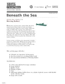 Beneath the Sea Lesson Plan