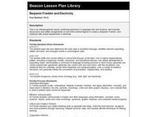 Benjamin Franklin and Electricity Lesson Plan