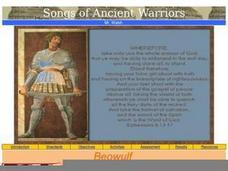 Beowulf: Songs of Ancient Heroes Lesson Plan
