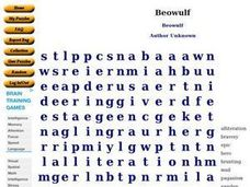 """Beowulf"" Worksheet"