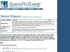 Better Fitness Lesson Plan