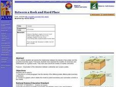 Between a Rock and Hard Place Lesson Plan